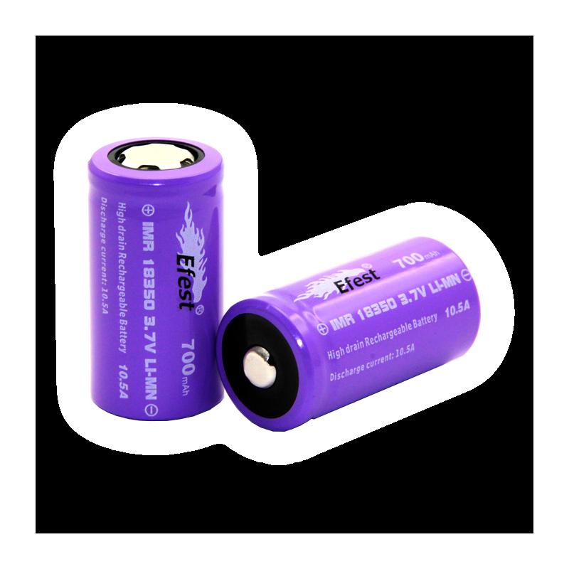 Accumulateur 18350 IMR (700 mAh) EFEST - Batterie