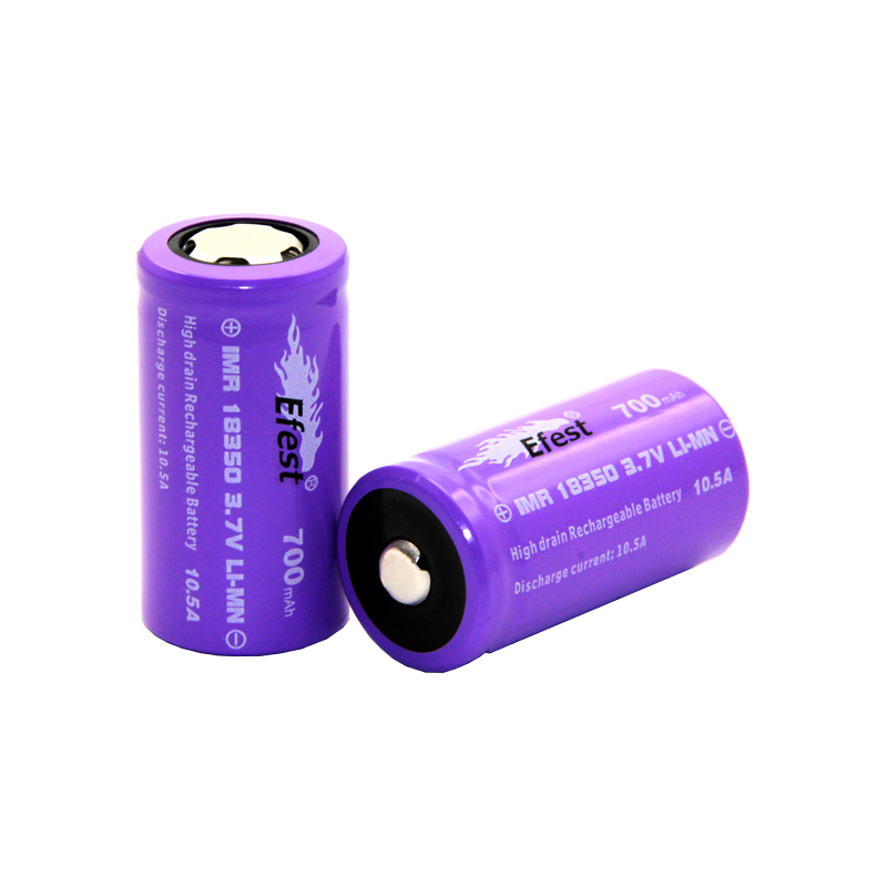 Accumulateur 18350 IMR (700 mAh) EFEST - Batterie