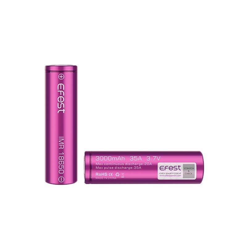 Accumulateur 18650 IMR  EFEST - Batterie