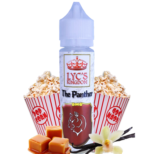 THE PANTHER ~ Pop-corn, caramel, vanille