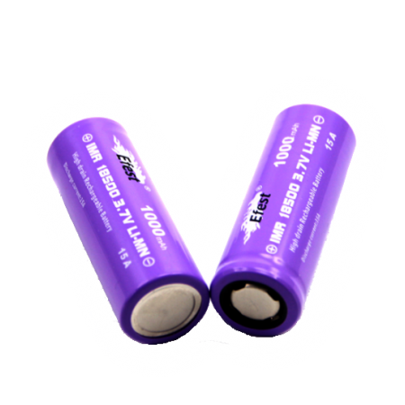 Accumulateur 18500 IMR (1000 mAh) EFEST - Batterie