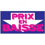 PRIX EN BAISSE
